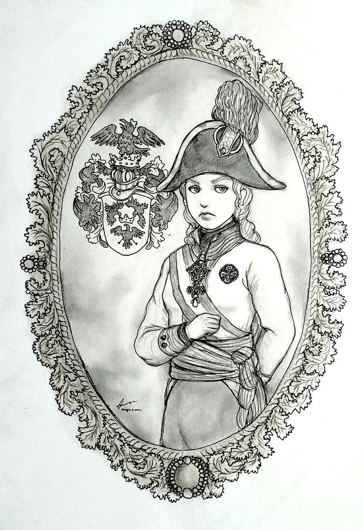 Marie von Eggenberg - Tribute to Pelycosaur24 by Gambargin