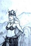 Shield(less)maiden Asa the Horny Viking