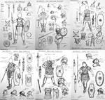 HWS: Antiquity - Roman Women Warriors Concept