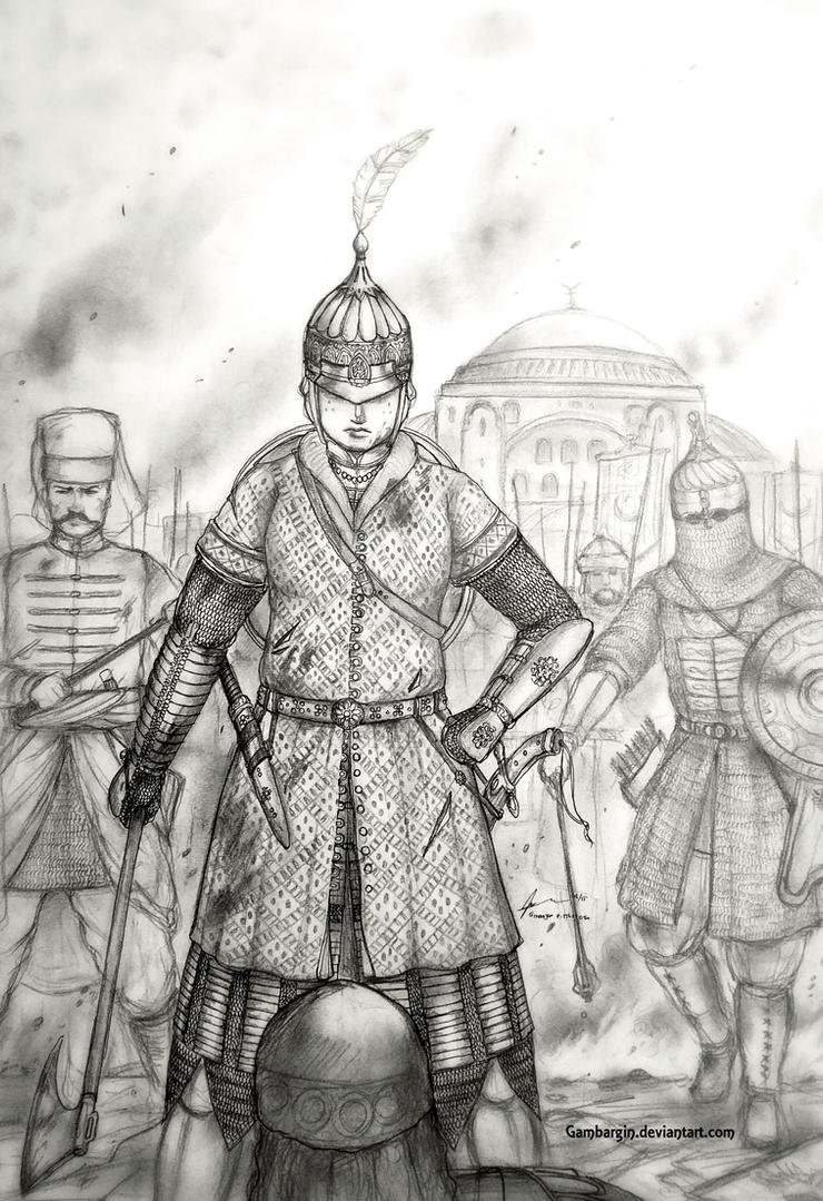 Aslihan Hatun of Devlet-i Orhanliyye (Ottoman) by Gambargin