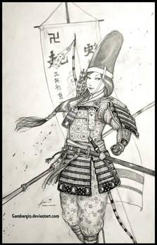 Tomoe Gozen of Japan, 1180 AD - Women War Queens