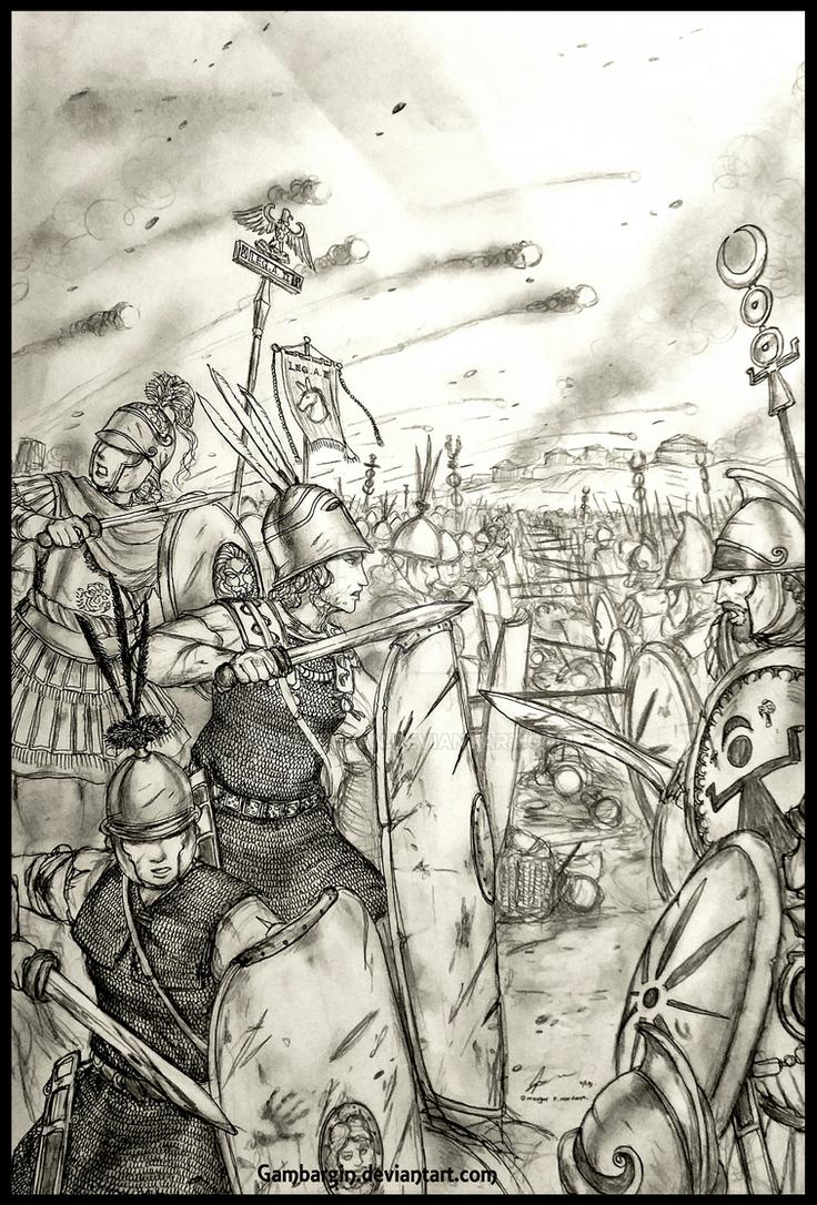 Legio Asinus II Hiberii Extraordinarii of SPQR by Gambargin