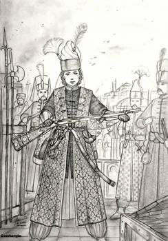 Ikhal Effendi Apek of Orhanli Devleti (Ottoman)