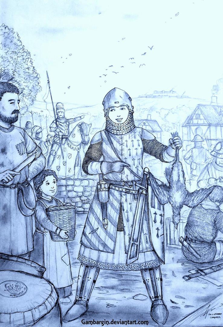 Morganez de Gwened of Dugelezh Breizh (Breton) by Gambargin