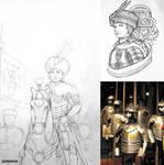 Late 16th-17th Century Polish Woman Warrior - WIP