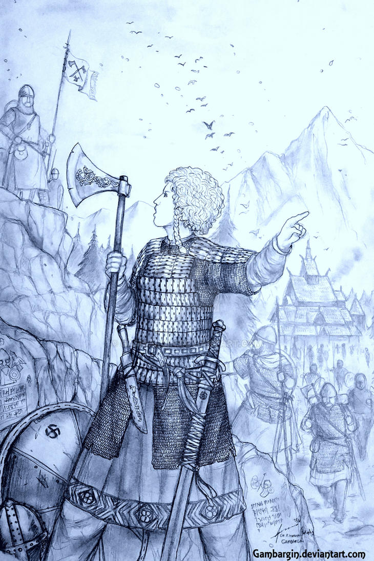 Frue Ragna of Kongeriket Norge (Norwegian) by Gambargin