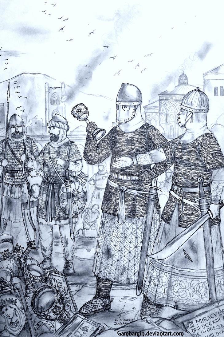 The de Argentants of Mezzogiorno (Italo-Norman) by Gambargin