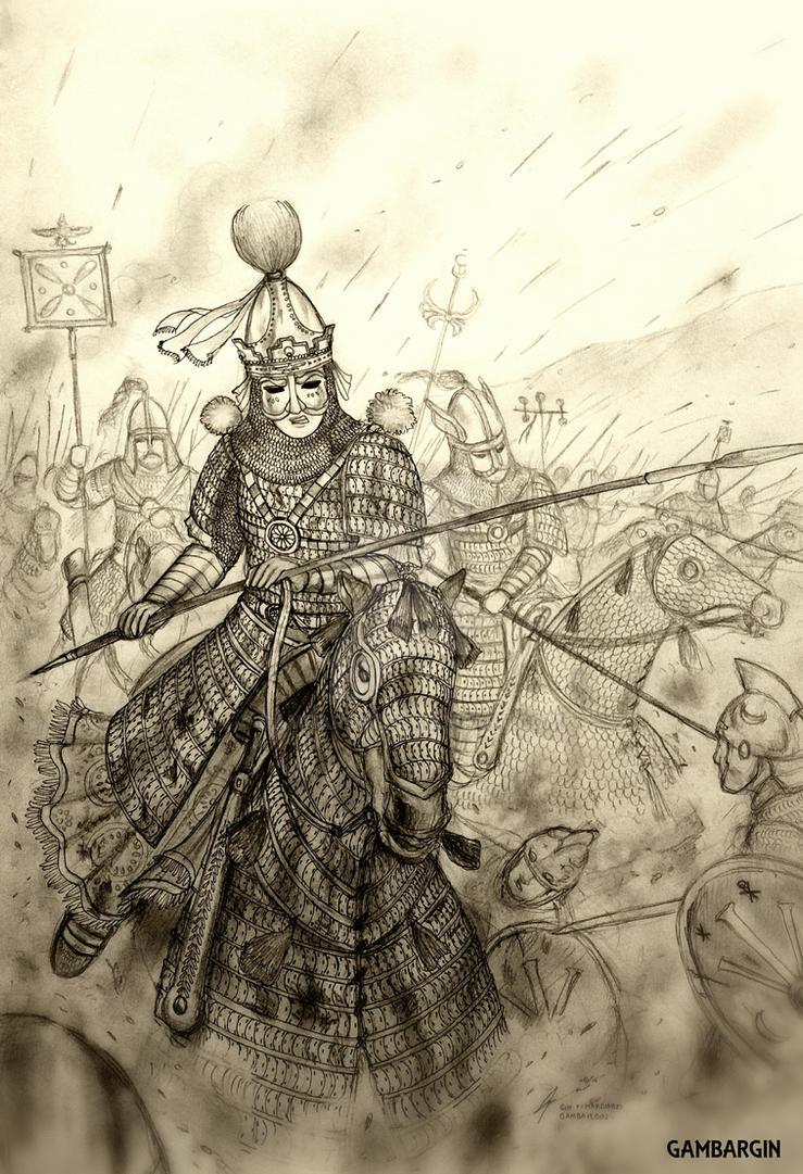 Shahbanu Azadeh of Bahramiyan Eranshar (Sassanid) by Gambargin