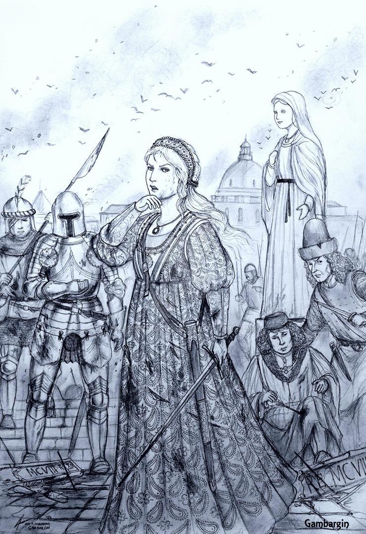Patrizia Giovanna of Repubblica di Marina (Italy) by Gambargin