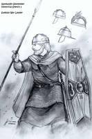 Ariovistus, a Suebian War-Leader (1st BCE) by Gambargin