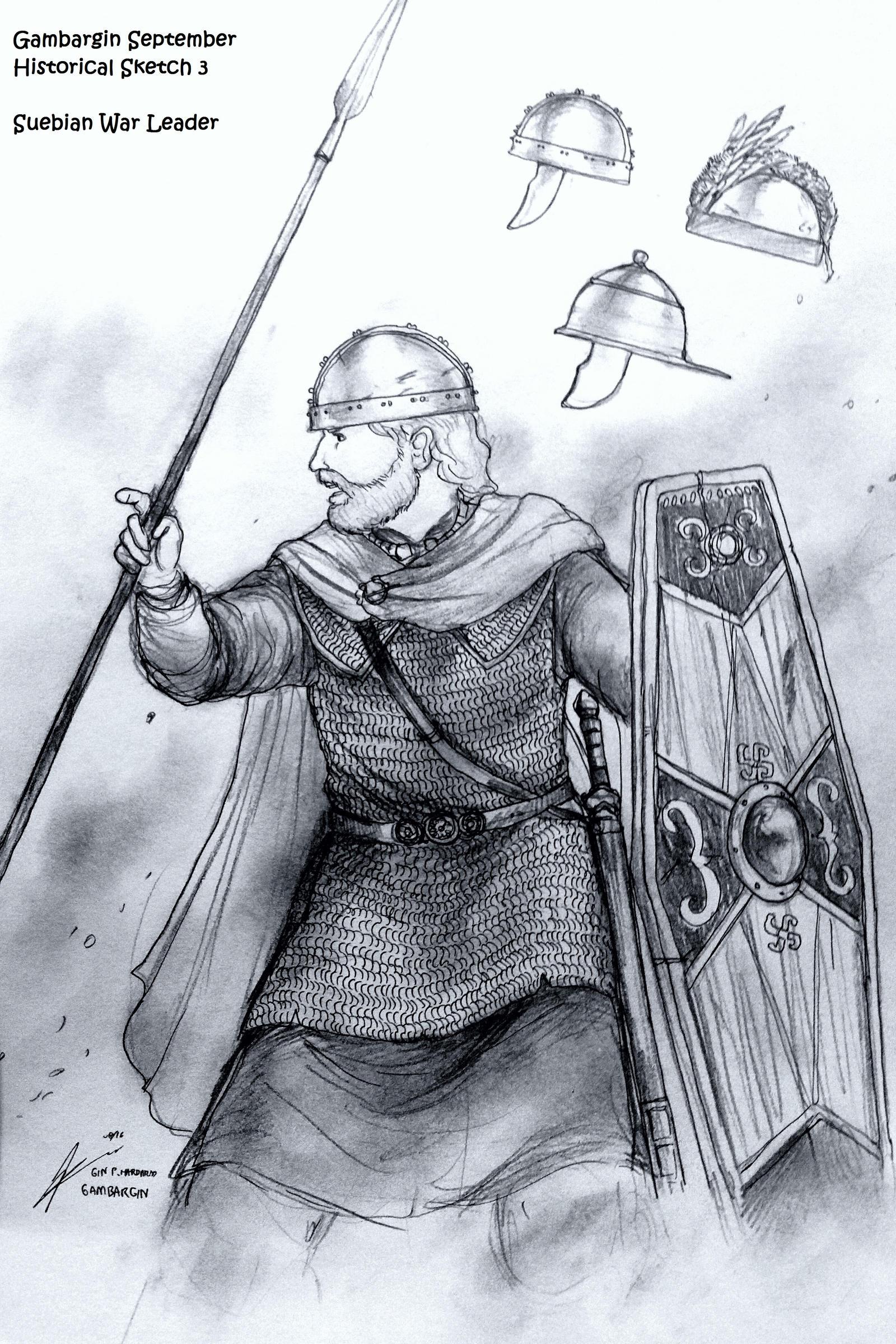 Ariovistus, a Suebian War-Leader (1st BCE)