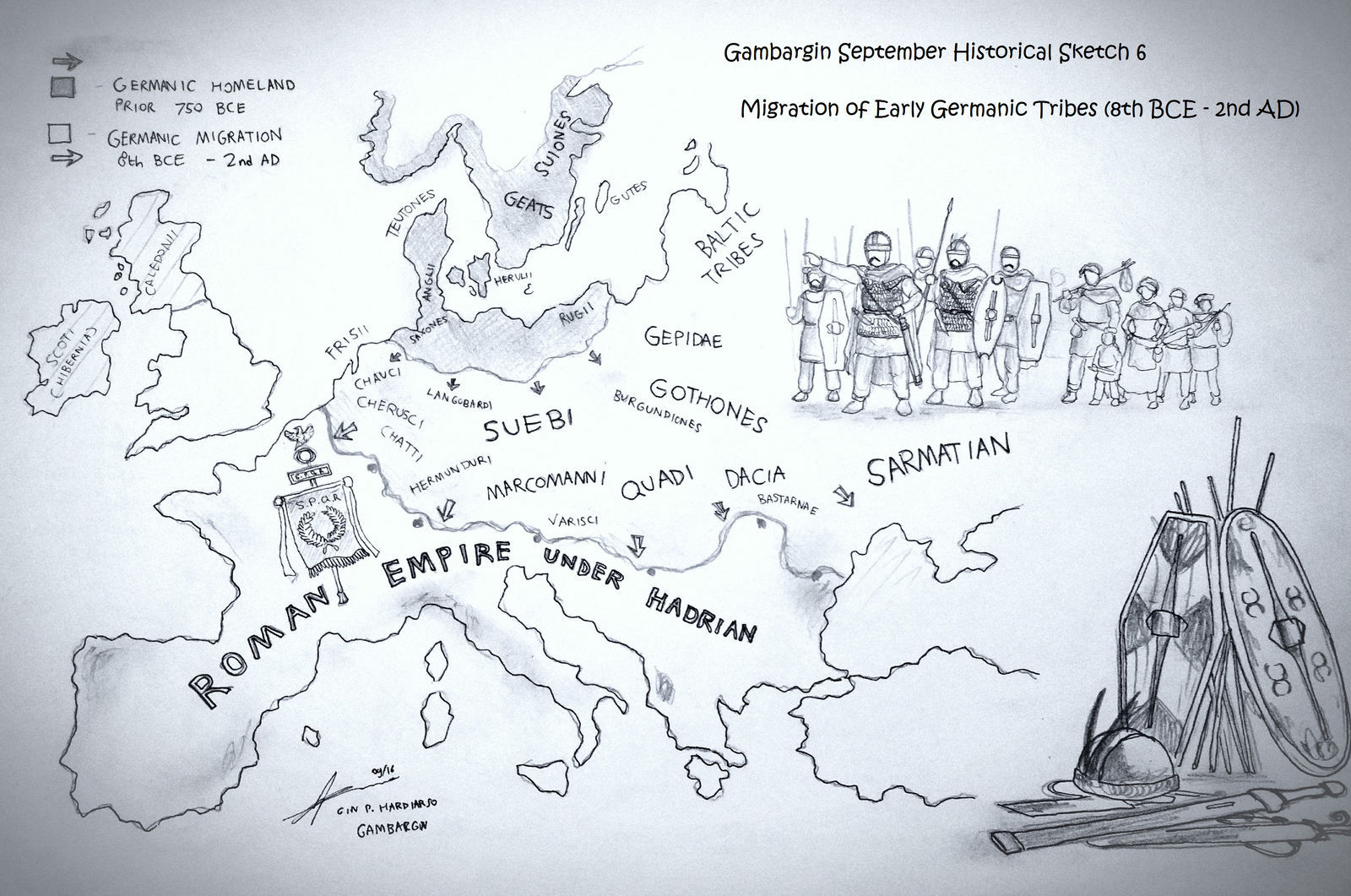 The Migration of The Early Germanic People