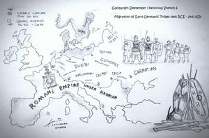 The Migration of The Early Germanic People by Gambargin