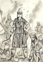 Tomyris of Massagetae, 6th BCE - Women War Queens by Gambargin