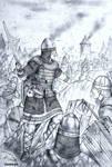 HWS Medieval Baltic Woman Warrior Concept