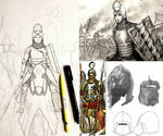 HWS Medieval Polish (Poland) Woman Warrior - WIP