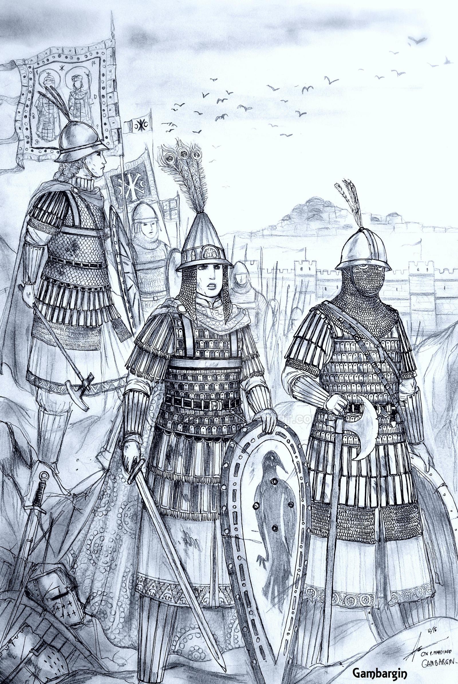 HWS Medieval Female Varangian Guard Concept by Gambargin on