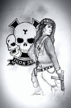 Dorothy Angels of Iron Skull Motorcycle Club