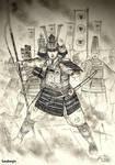 HWS Medieval Japanese Onna Bugeisha Concept I