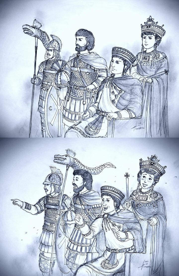 Byzantine Reaction Meme by Gambargin by Gambargin