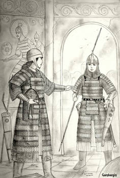 HWS Early Medieval Turanian Women Warriors Concept