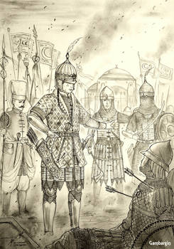 HWS Late-Medieval Ottoman Woman Warrior Concept