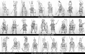 HWS Roman Women Warriors - Legio Asinus I-VIII by Gambargin