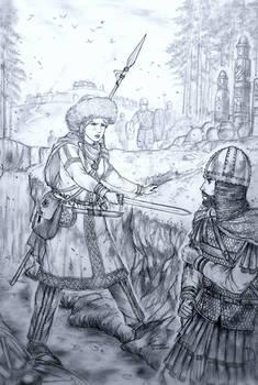 Malusha of VelKae Kyunyedziestvo (Proto -Slav)