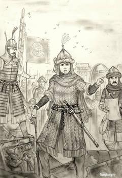 Lalla Qamara of Bilad ar-Rafidayn (Mashriqi Arabs)
