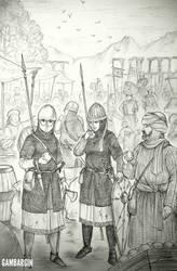HWS Medieval Basque Women Warrior Concep