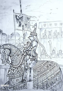 HWS Late Medieval Austrian Woman Warrior Concep