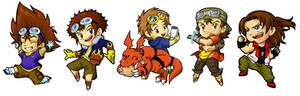 Digimon Chibis