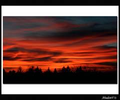 The sky by AbadonV