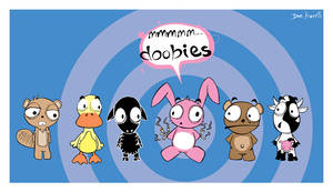 doobie_animals by punkrockDAN