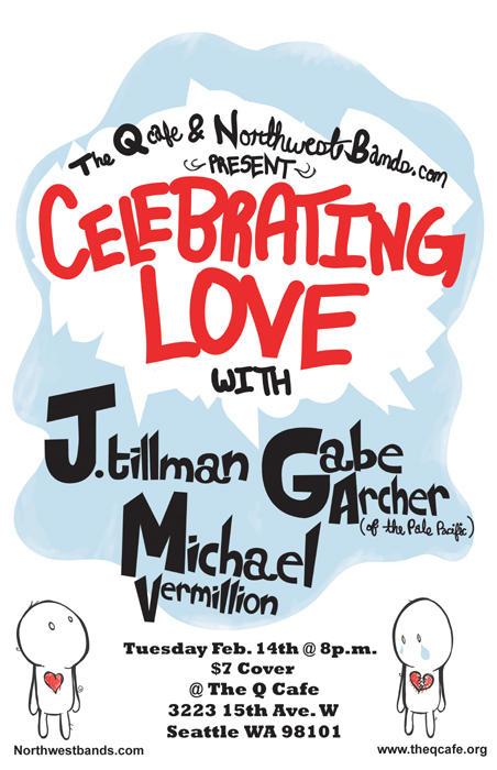 Celebrating Love Poster by punkrockDAN