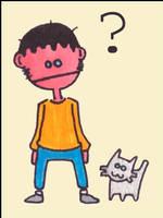 Confused Boy by monokoma
