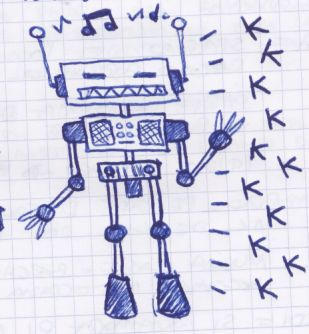 Music Robot by monokoma