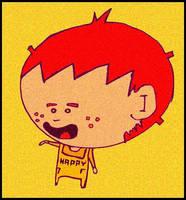 Big Head Kid by monokoma
