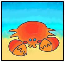 Dreaming Crab by monokoma