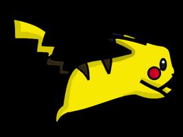 Pikachu Cartoon by RandomPickaxes