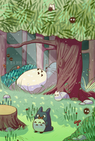 My Neighbour Totoro by mio-mio