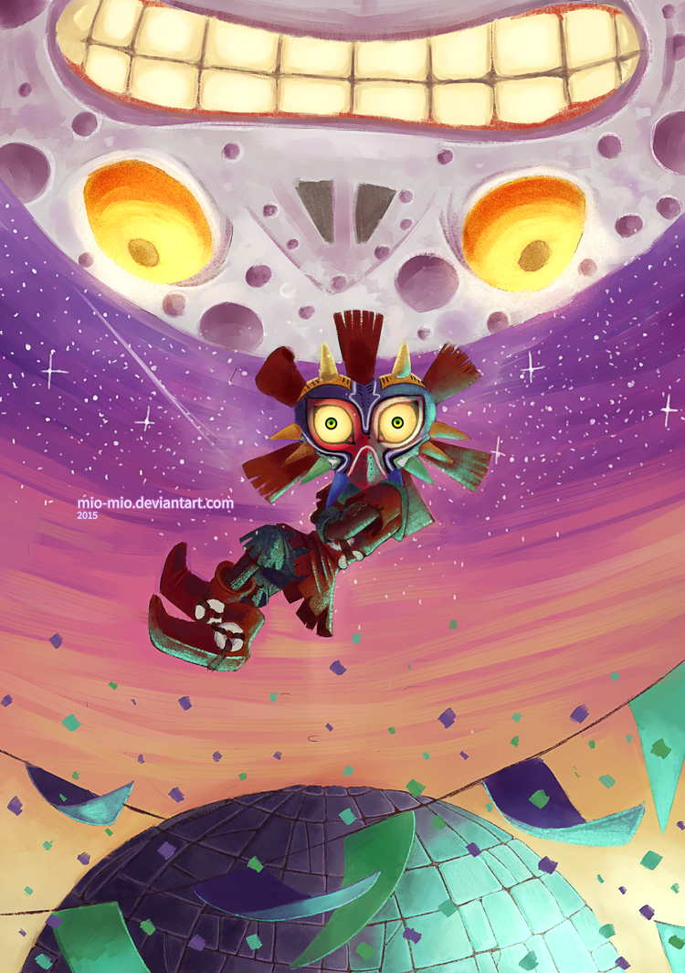 Majora's Mask - Dawn of the Third Day by mio-mio