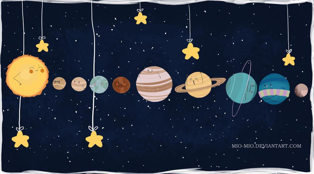 Storenvy Stickers Solar System By Mio Mio On Deviantart