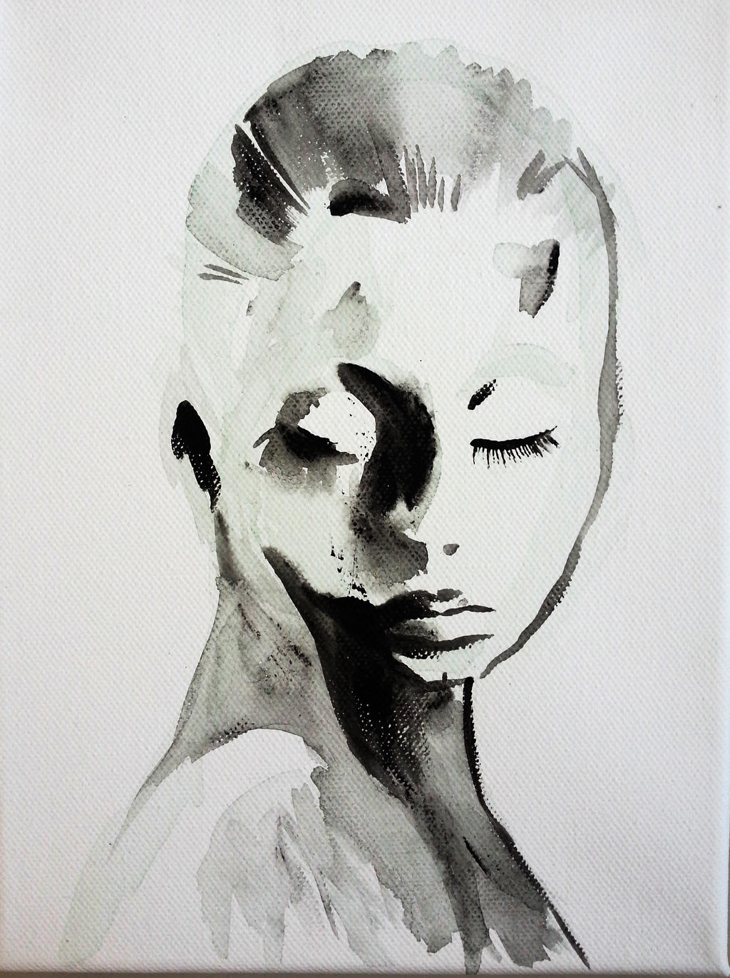 A Hint of sadness by dareme