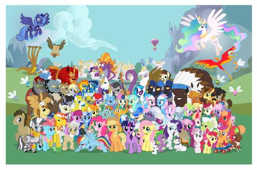 16k Pony Con Poster wo logos