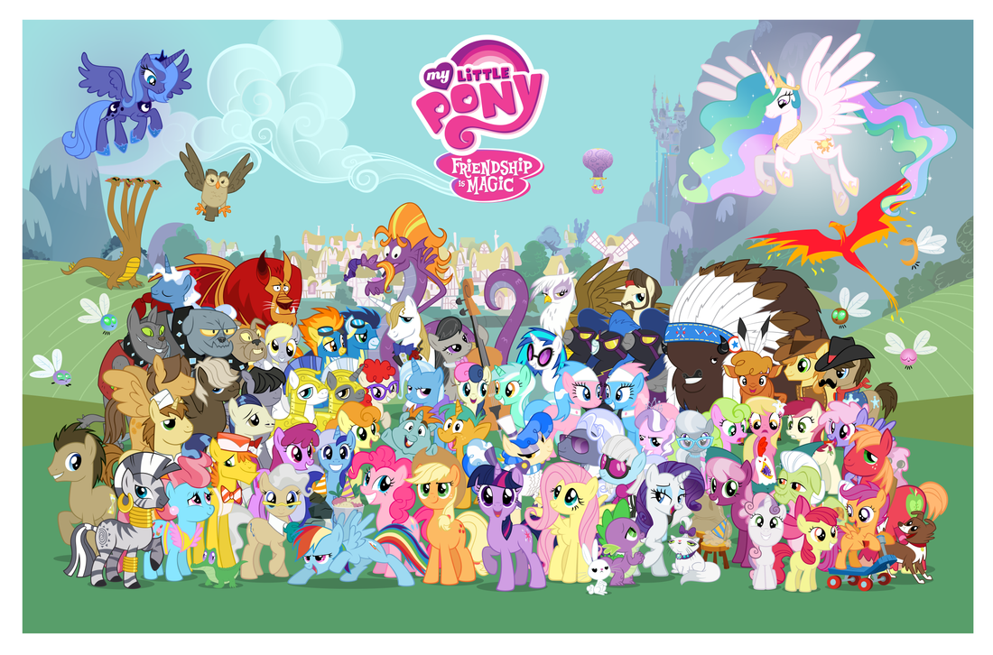 16,000 - no logos by PonyComicConPoster