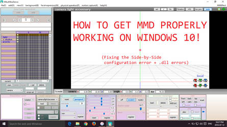 {MMD TUTORIAL} GETTING MMD TO WORK ON WINDOWS 10! by MMDMariaxx