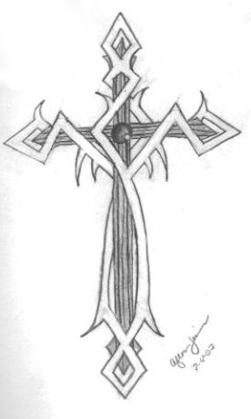 cross tattoo patterns. cross tattoos for men