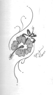 Art of Hawaiian Tattoos With Image Hawaiian Flower Tattoo Designs Picture 9