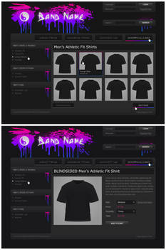 Band Store Template 01